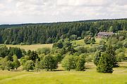 Naturschutzgebiet, Jugendherberge, Hoherodskopf, Vogelsberg, Hessen, Deutschland | nature reserve, youth hostel, Hoherodskopf, Vogelsberg, Hesse, Germany