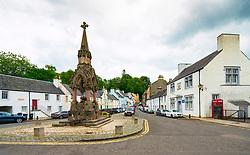 Atholl memorial at High Street in  in Dunkeld, Perthshire, Scotland, UK
