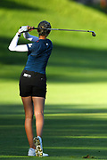 Nelly Korda (Usa) competes during the practice round of LPGA Evian Championship 2018, Day 2, at Evian Resort Golf Club, in Evian-Les-Bains, France, on September 11, 2018, Photo Philippe Millereau / KMSP / ProSportsImages / DPPI
