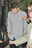 LONDON - August 07: Michael Phelps at Omega House in London (Photo by Brett D. Cove)