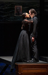 11.04.2019, Große Universitätsaula, Salzburg, AUT, Salzburger Osterfestspiele, Fotoprobe, Kammeroper Therese (Oper von Emile Zola), im Bild Marisol Montalvo als Therese und Otto Katzameier als Laurent // during the rehearsal of the Chamber opera Therese (opera by Emile Zola). The Salzburg Easter Festival takes place from 13 April to 23 April 2019, at the Große Universitätsaula in Salzburg, Austria on 2019/04/11. EXPA Pictures © 2019, PhotoCredit: EXPA/ Ernst Wukits