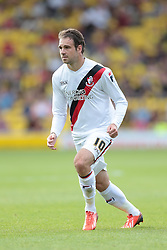 Bournemouth's Brett Pitman  - Photo mandatory by-line: Nigel Pitts-Drake/JMP - Tel: Mobile: 07966 386802 10/08/2013 - SPORT - FOOTBALL - Vicarage Road - Hertfordshire -  Watford v AFC Bournemouth - Sky Bet Championship