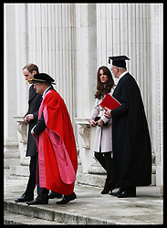 The Duke and Duchess of Cambridge at the Senate House  in Cambridge, Wednesday , 28th November 2012. .Photo by: Stephen Lock / i-Images