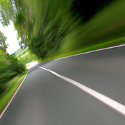 A72 Peebles road in the Scottish Borders; image depicting speed, road & infrastructure