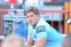 28-07-18 Emirates Airline Park, Johannesburg. Super Rugby semi-final Emirates Lions vs NSW Waratahs. 2nd half. In the sin bin Waratahs Damien Fitzpatrick.<br />  Picture: Karen Sandison/African News Agency (ANA)