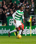 4th April 2018, Celtic Park, Glasgow, Scotland; Scottish Premier League football, Celtic versus Dundee; Dedryck Boyata of Celtic