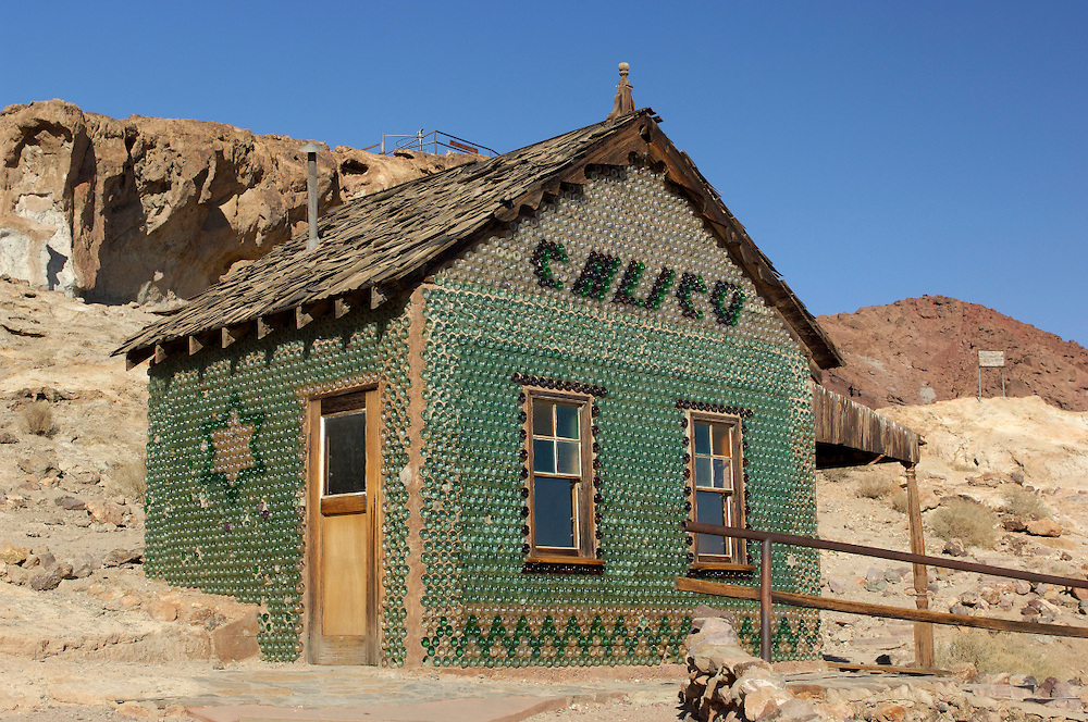 Bottle house, Calico Ghost Town, California, United States of America