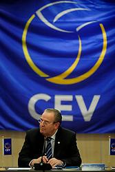 30-01-2010 VOLLEYBAL: CEV MEETING: DEN HAAG<br /> Vergadering van de CEV board in het Mercure hotel / Andre Meyer<br /> ©2010-WWW.FOTOHOOGENDOORN.NL