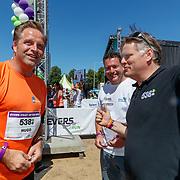 NLD/Amsterdam/20180701 - Evers staat op Run 2018, minister Hugo de Jonge