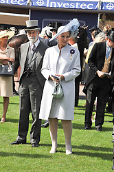 PRINCE & PRINCESS MICHAEL OF KENT at the 2012 Investec sponsored Derby at Epsom Racecourse, Epsom, Surrey on 2nd June 2012.