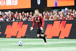 November 25, 2018 - Atlanta, GA, USA - Atlanta, Georgia - Sunday, November 25, 2018. Atlanta United defeated the New York Red bulls, 3-0, in the first leg of the MLS Eastern Conference Final in front of a crowd of 70,016 at Mercedes-Benz Stadium. (Credit Image: © Perry Mcintyre/ISIPhotos via ZUMA Wire)
