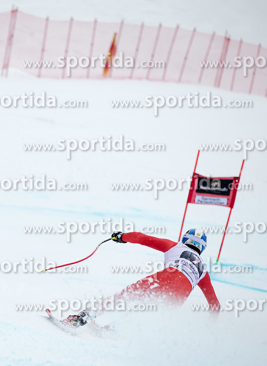 28.02.2015, Kandahar, Garmisch Partenkirchen, GER, FIS Weltcup Ski Alpin, Abfahrt, Herren, im Bild Werner Heel (ITA) // Werner Heel of Italy+ in action during the men's Downhill of the FIS Ski Alpine World Cup at the Kandahar course, Garmisch Partenkirchen, Germany on 2015/02/28. EXPA Pictures © 2015, PhotoCredit: EXPA/ Johann Groder