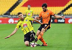 Wellington-Football, A- League, Phoenix v Brisbane Roar FC