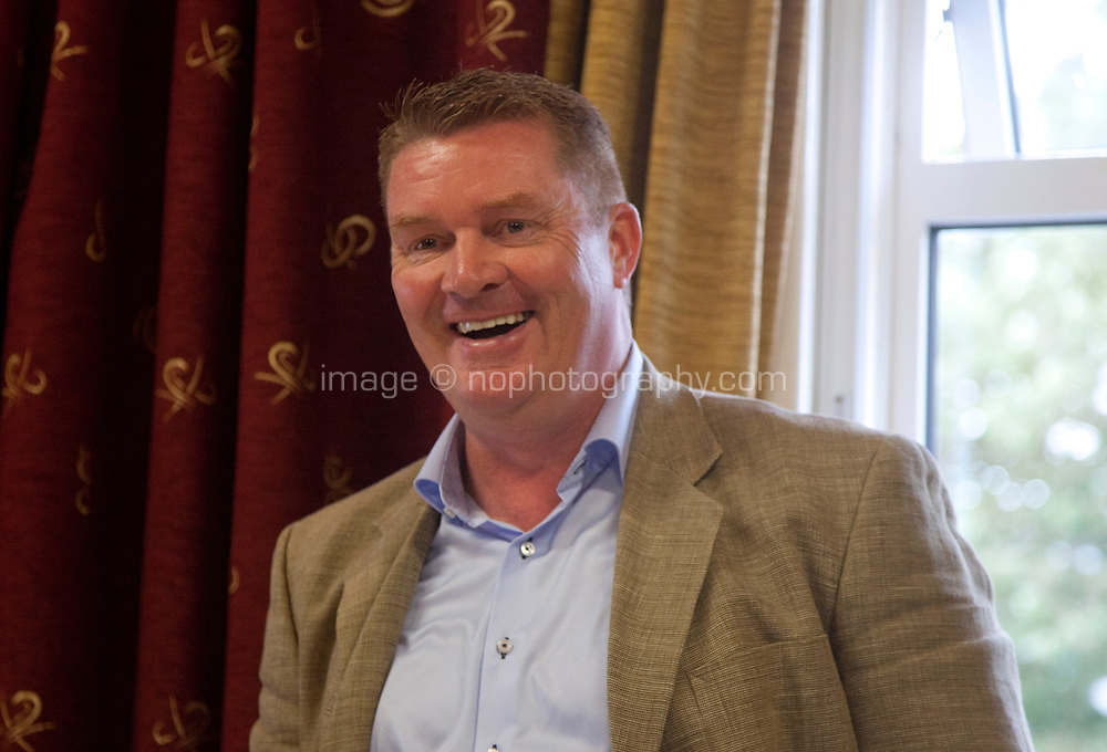 Páidaí Ó Lionáird (TG4) chairing  the 'Shaping Film Production in Ireland - the next 10 years' Panel Discussion at the Galway Film Fleadh, Galway Rowing Club, Galway, Ireland. Saturday 14th July 2018