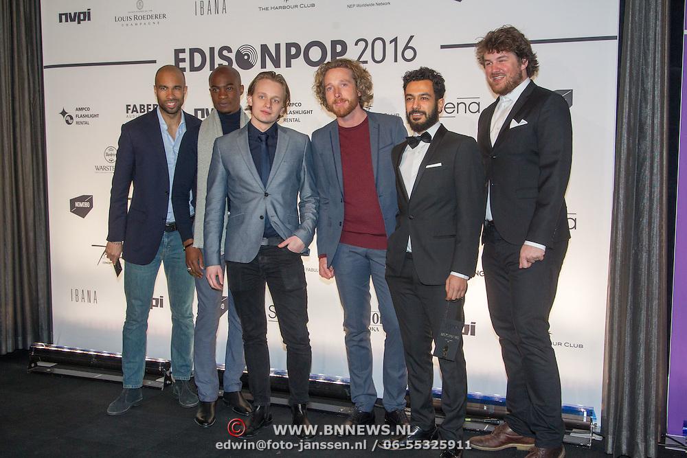 NLD/Amsterdam/20160321 - Edison Pop Awards 2016, Bewilder