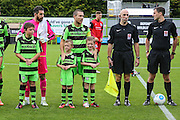during the Vanarama National League match between Forest Green Rovers and Barrow at the New Lawn, Forest Green, United Kingdom on 1 October 2016. Photo by Shane Healey.
