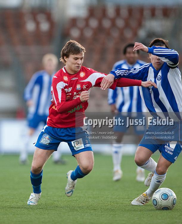 Jaakko Isteri. Klubi-04 - PS Kemi. Ykkönen. Helsinki 25.4.2010. Photo: Jussi Eskola
