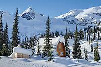Wendy Thmpson Hut located in Marriott Basin, Coast Mountains British Columbia