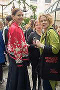 YANA PEEL; ELIZABETH ANNE MCGREGOR, BLOOMBERG LUNCH, METROPOLE HOTEL, . Venice Biennale, 10 May 2017