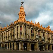 Gran Teatreo de La Habana, Grand Theatre of Havana in Habana Centro, Central Havana, Cuba.