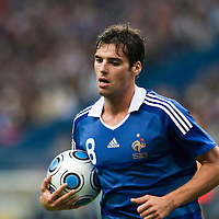 05 September 2009: French forward Yoann Gourcuff  is seen during the World Cup 2010 qualifying football match France vs. Romania (1-1), on September 5, 2009 at the Stade de France stadium in Saint-Denis, near Paris, France.