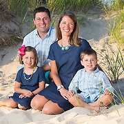 Family portrait in the dunes of Wellfleet