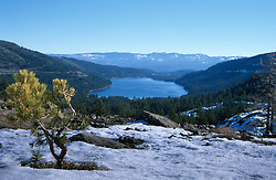&quot;Donner Lake 2&quot;- Photographed from the west end of Donner Lake, facing toward the town of Truckee, CA.<br />