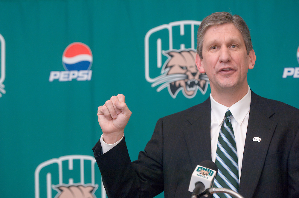 18616Jim Schaus was named Ohio's Director of Athletics at a press conference in the Convo on Monday, April 7, 2008 at 3:00pm.