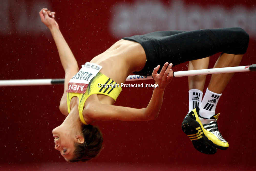 Blanka Vlasic in action during the 110 metre hurdle event, at the IAAF Golden League Track and Field meeting on 17 July 2009 in Paris, France. Photo: Panoramic/PHOTOSPORT *** Local Caption ***