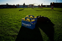 Lucozade Water Bottles prior to kick off - Mandatory by-line: Ryan Hiscott/JMP - 19/01/2020 - FOOTBALL - Stoke Gifford Stadium - Bristol, England - Bristol City Women v Liverpool Women - Barclays FA Women's Super League