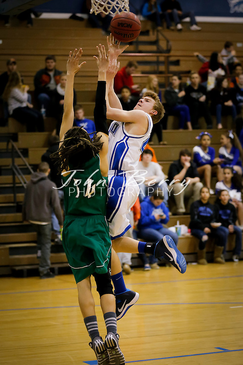 February 06, 2014.  MCHS JV Boys Basketball vs William Monroe.  Madison wins 50-46 in overtime.