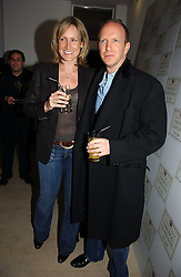 SIMON & SANTA SEBAG-MONTEFIORE at a party to celebrate the launch of India Hick's 'Island Living' range of frangrance and beauty products in association with Crabtree & Evelyn held at The Hempel, Craven Hill Gardens, London on 22nd November 2006.<br /><br />NON EXCLUSIVE - WORLD RIGHTS
