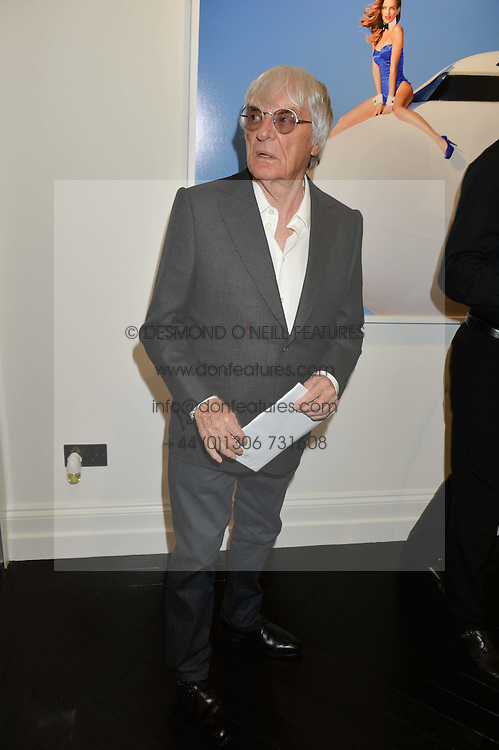 BERNIE ECCLESTONE at a party to celebrate the launch of the Maddox Gallery at 9 Maddox Street, London on 3rd December 2015.
