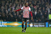 Brentford midfielder Romaine Sawyers (19) during the EFL Sky Bet Championship match between Queens Park Rangers and Brentford at the Loftus Road Stadium, London, England on 10 November 2018.