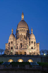 Sacré-Cœur Basilica, Located at the highest point of Paris, France