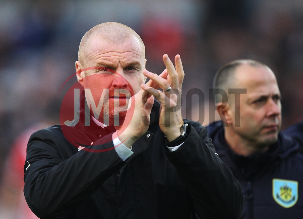 Burnley manager Sean Dyche - Mandatory by-line: Jack Phillips/JMP - 14/01/2017 - FOOTBALL - Turf Moor - Burnley, England - Burnley v Southampton - Premier League