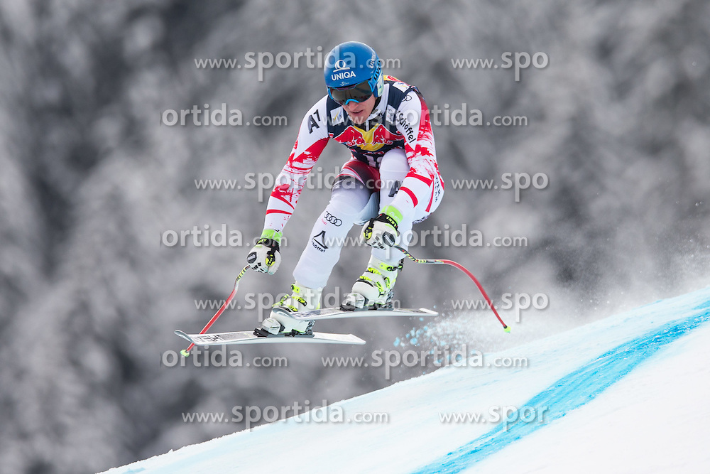20.01.2015, Streif, Kitzbuehel, AUT, FIS Ski Weltcup, Abfahrt, Herren, 1. Training, im Bild Matthias Mayer (AUT) // Matthias Mayer of Austria in action during first practice run for the mens Downhill of Kitzbuehel FIS Ski Alpine World Cup at the Streif Course in Kitzbuehel, Austria on 2015/01/20. EXPA Pictures © 2015, PhotoCredit: EXPA/ Johann Groder