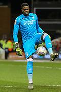 Nottingham Forest goalkeeper Brice Samba during the EFL Sky Bet Championship match between Nottingham Forest and Charlton Athletic at the City Ground, Nottingham, England on 11 February 2020.