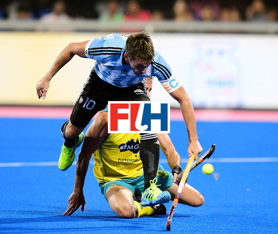 Odisha Men's Hockey World League Final Bhubaneswar 2017<br /> Match id:22<br /> Argentina v Australia Final<br /> Foto: Matias Paredes (Arg)  <br /> COPYRIGHT WORLDSPORTPICS FRANK UIJLENBROEK