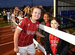 Lauren Hemp of Bristol City Women poses with supporters - Mandatory by-line: Paul Knight/JMP - 03/05/2018 - FOOTBALL - Stoke Gifford Stadium - Bristol, England - Bristol City Women v Manchester City Women - FA Women's Super League 1