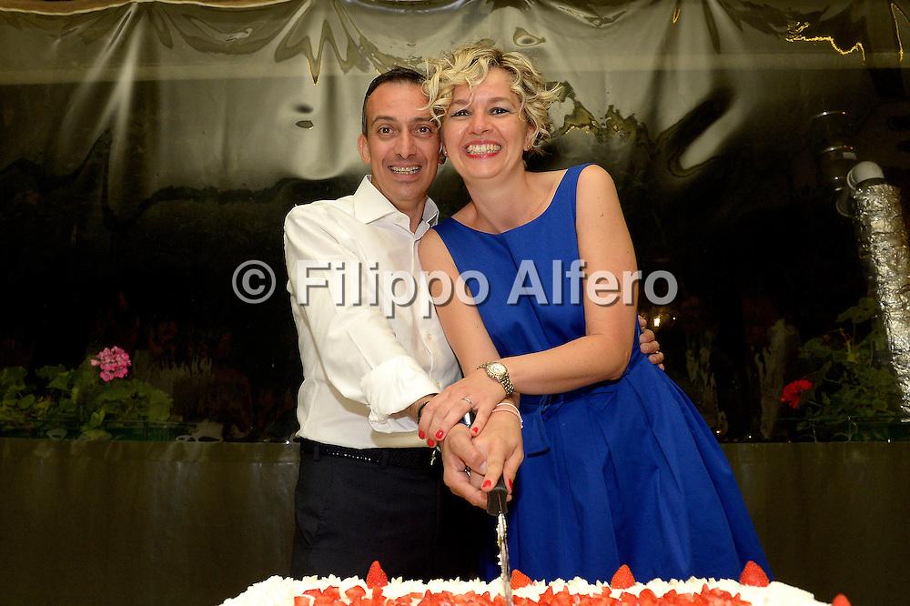 &copy; Filippo Alfero<br /> Simona e Daniele<br /> Torino, 01/08/2015