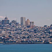 View of San Francisco from Marin Headlands.