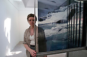 """VENICE, ITALY..50th Biennale of Venice.Icelandic Pavillion..""""Archive"""" by Ru?ri (seen here)..(Photo by Heimo Aga)"""