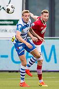 ZWOLLE - 18-09-2016, PEC Zwolle - AZ, MAC3park Stadion, 0-2, PEC Zwolle speler Nicolai Brock-Madsen, AZ speler Rens van Eijden