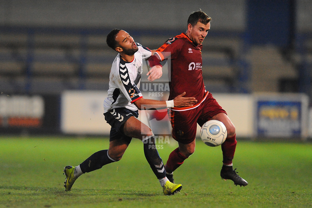 TELFORD COPYRIGHT MIKE SHERIDAN 5/1/2019 - Brendon Daniels of AFC Telford during the Vanarama Conference North fixture between AFC Telford United and Spennymoor Town.