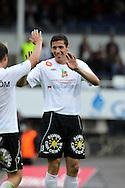 4.7.2011, Tehtaan kentt?, Valkeakoski..Veikkausliiga 2011, FC Haka - FF Jaro..Albert Kuqi - Haka..