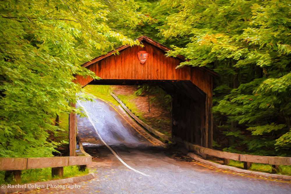 &quot;Covered Bridge Painting&quot; <br />