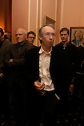Ian McEwan. Book party for Saturday by Ian McEwan, Polish Club, South Kensington.  4 February 2005. ONE TIME USE ONLY - DO NOT ARCHIVE  © Copyright Photograph by Dafydd Jones 66 Stockwell Park Rd. London SW9 0DA Tel 020 7733 0108 www.dafjones.com