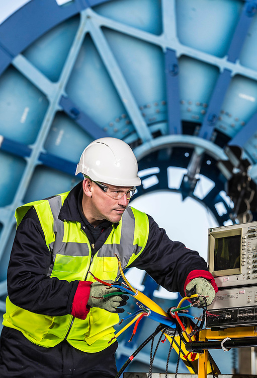 JDR Hartlepool - Cable manufacturer Images of terminations and testing