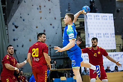 Horzen Kristjan of Slovenia during friendly handball match between national teams Slovenia and Montenegro on 4th Januar, 2020, Trbovlje, Slovenia. Photo By Grega Valancic / Sportida